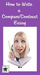 Teaching compare and contrast essay writing