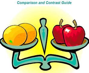 Printable Lesson Plan On Compare and Contrast Essay